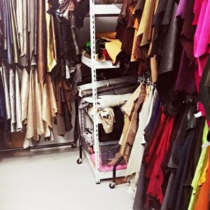 Selection on leather in our Studio