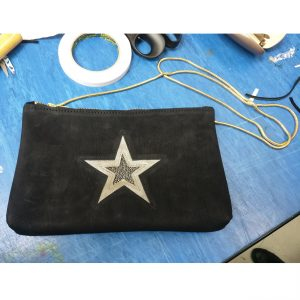 THE LONDON LEATHER WORKSHOP - personalised applique bag