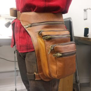 THE LONDON LEATHER WORKSHOP - bespoke man bag