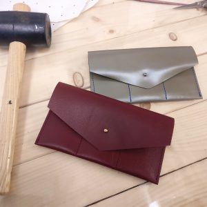 THE LONDON LEATHER WORKSHOP - customised leather wallets