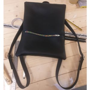 THE LONDON LEATHER WORKSHOP - personalised rucksack
